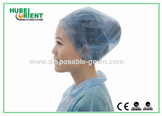 Polypropylene Disposable Head Cover With Elastic Closure