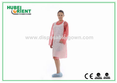 Oil Prevention 0.08mm Disposable Polyethene Apron