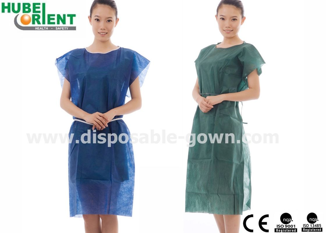 Polypropylene Disposable Protection Gown 105x140cm 115x150cm For Cleanroom