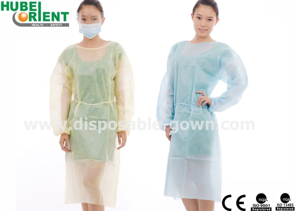 Operating Room Anti Splash Disposable Isolation Gowns