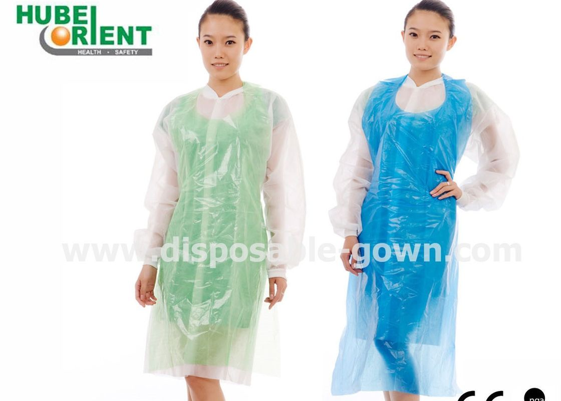 Non Stimulating Non Toxic Polyethene Disposable Aprons